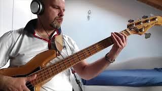 "Slap Bass Riff 31 Fender Jazz Bass Marcus Miller 5 strings   ""Fat Groove"""