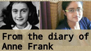 FROM THE DIARY OF ANNE FRANK (SUMMARY IN HINDI)