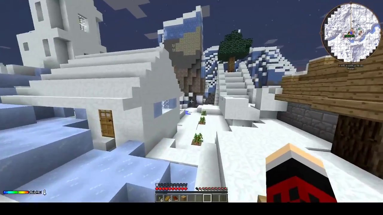 Minecraft modd arctic arrival 02 outils en silex youtube - Outil minecraft ...