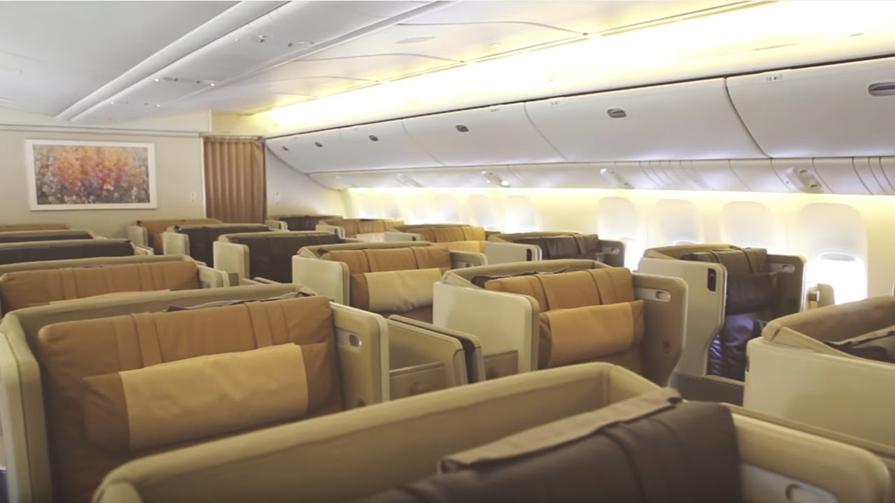 Business Class On The Boeing 777 300er
