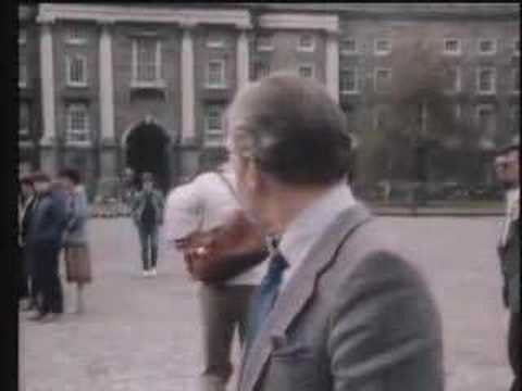 Gay Byrne & Mike Murphy From RTE