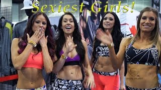 THE 2016 LA FIT EXPO - SEXIEST GIRLS