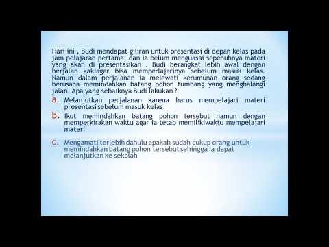 Kumpulan Contoh Soal Akm Asesmen Kompetensi Minimum Smp Sma Smk Youtube