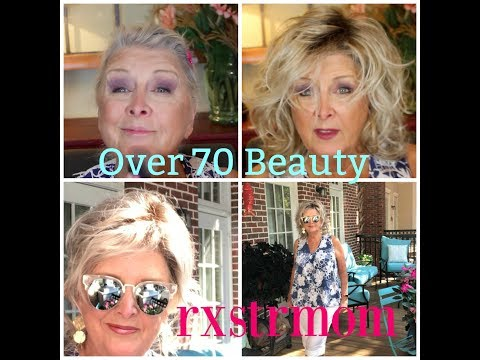 GetReadyWithMe~Bare Minerals~ Over70Beauty~Beach Wig