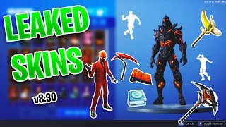 *NEW* Leaked INFERNO & RUIN Skins - SWITCHSTEP & DREAM FEET Emotes & MORE! Fortnite 8.30 Update
