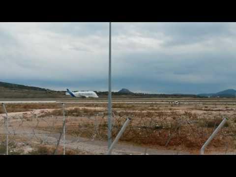 Beluga Airbus  Take Off From Athens