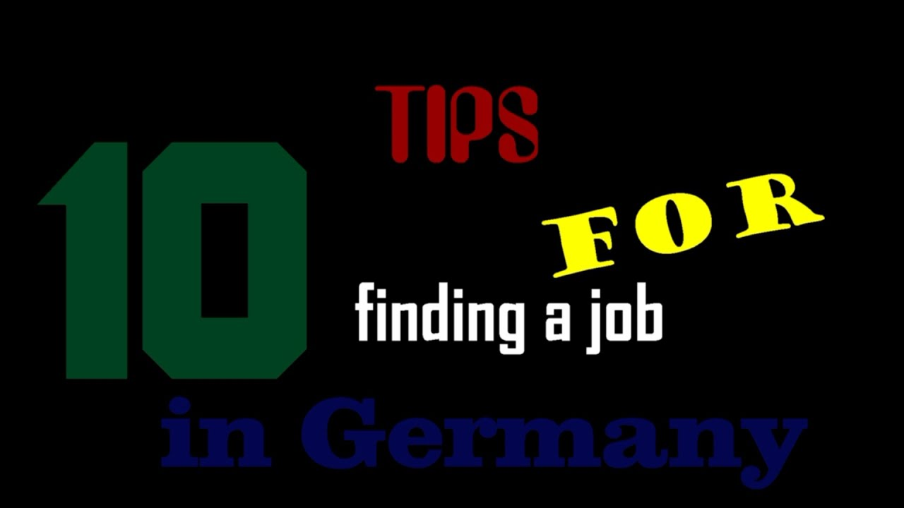 tips for finding a job in 26 10 tips for finding a job in