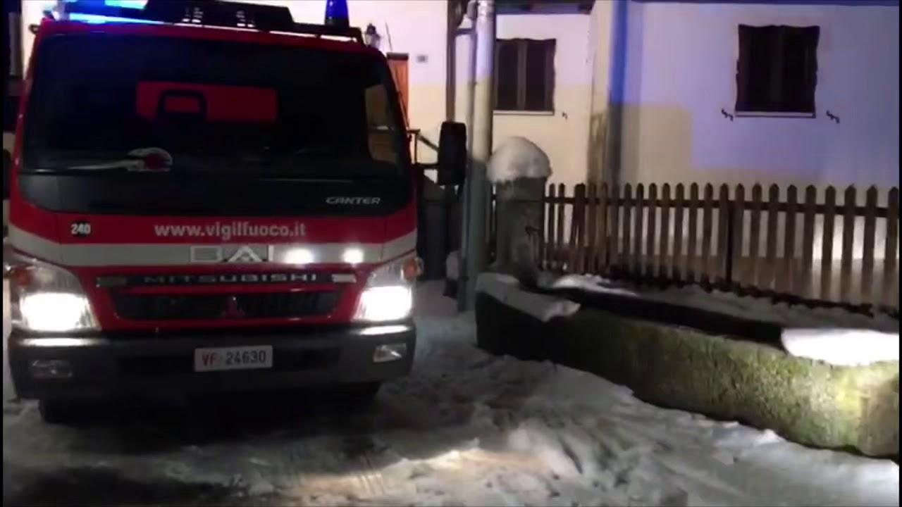 Incendio abitazione a Formazza