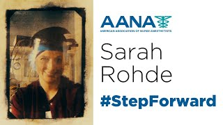 Sarah Rohde: #StepForward to increase access to care for critically ill patients.