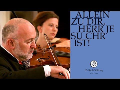 J.S. Bach - Cantata BWV 33 Allein zu Dir, Herr Jesu Christ   3 Aria (J. S. Bach Foundation)