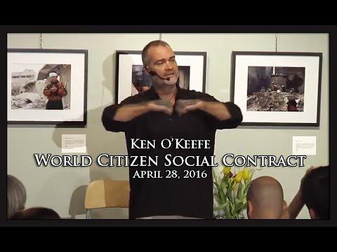 Ken O'Keefe - World Citizen Social Contract - Toronto 2016