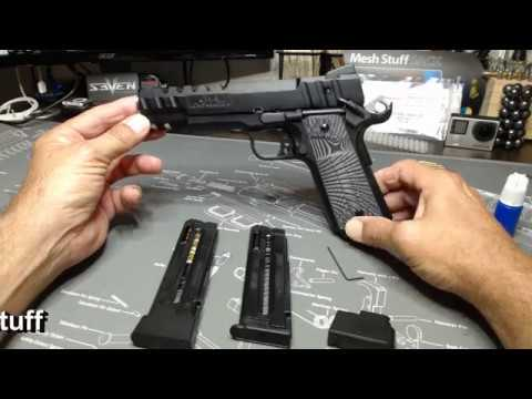 Sig & GSG 1911 22 CW Accessories Aluminum Base Pads and some other stuff