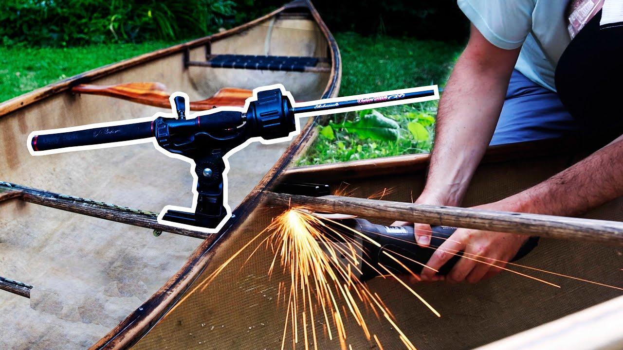 Install Rod Holder On Canoe | How To Video