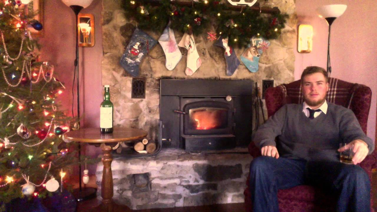 Nick Offerman Yule Log Parody - YouTube