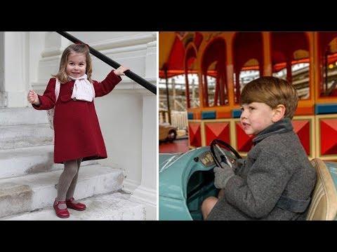 Kate Middleton & Prince William's Kids - 2018 (Princess Charlotte | Prince George)