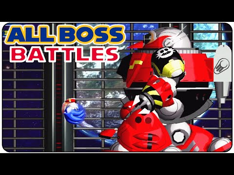 Sonic The Hedgehog 4: Episode 1 - All Bosses