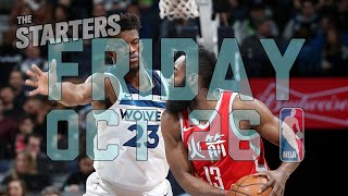 NBA Daily Show: Oct. 26 - The Starters