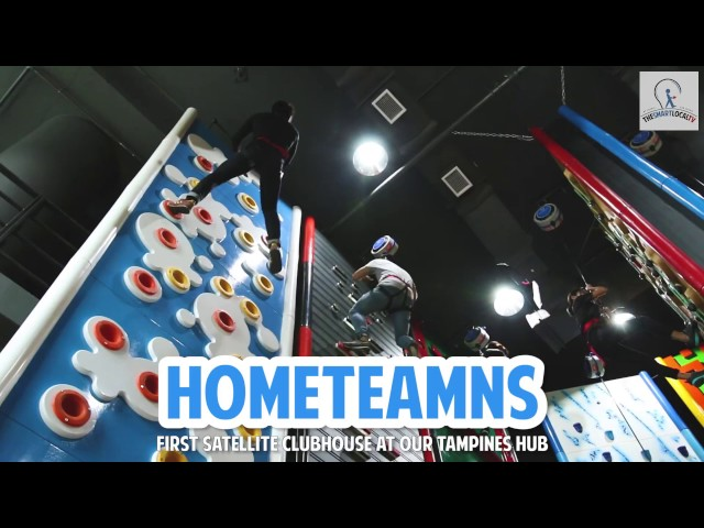 Singapore's First Climbing Wall + Theme Park found at HomeTeamNS Tampines!