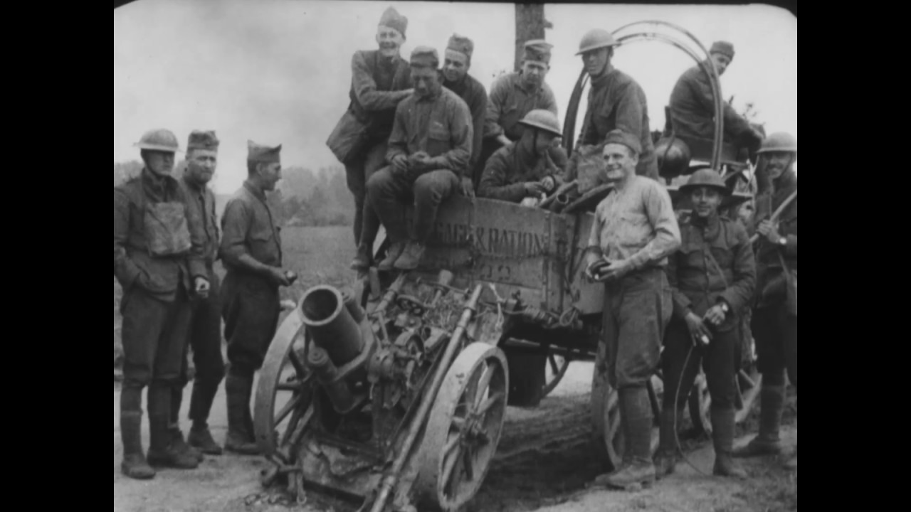 Occupation Of Chateau Thierry Sector June 6 July 14 1918 Second 1209 Kemeja Army Black Division