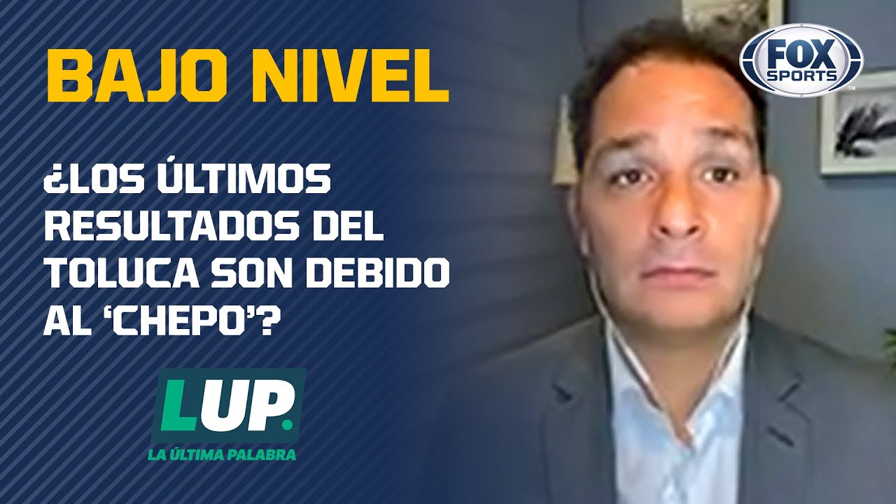 """""""El plantel de Toluca no está para dar los resultados"""""""