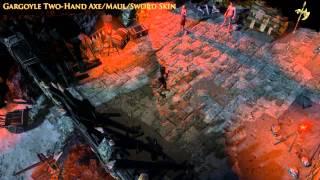 Path of Exile - Gargoyle Two-Hand Axe/Maul/Sword Skin
