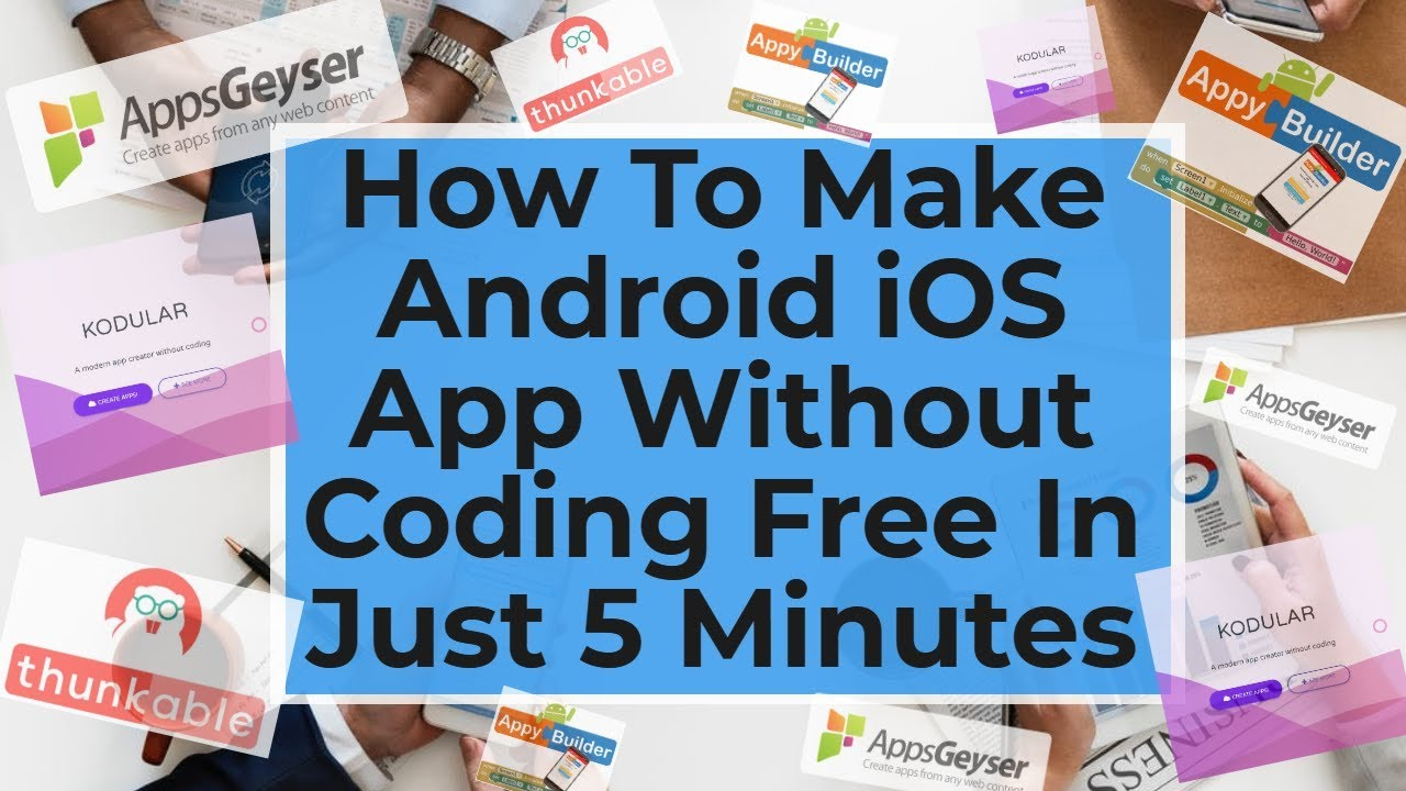 how to make app without coding in just 5 minutes|create android iOS Apps  without CodingApp