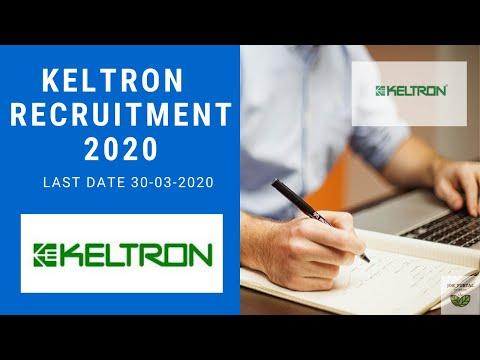 Kerala State Electronics Development Corporation Limited (KELTRON) RECRUITMENT 2020    JOB_PORTAL
