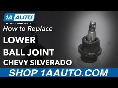 How to Replace Lower Ball Joint 07-13 Chevy Silverado