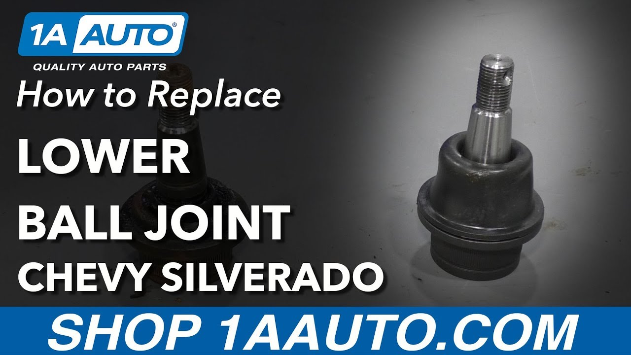 hight resolution of how to replace ball joint 99 15 chevy silverado 1500 1a auto parts