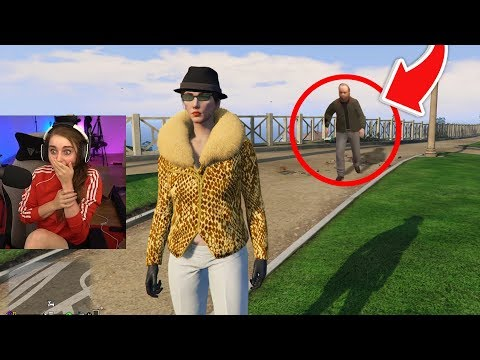 I was stream sniped in GTA 5 Online... (scary)