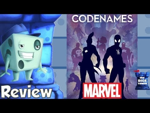 Codenames: Marvel Review - with Tom Vasel