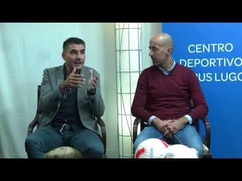 """Equipo ⚡ """"Desde la llegada de Monteagudo el Lugo es más vertical"""""""