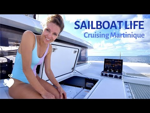 This Is What Sailboat Life Is Like Cruising Martinique EP 34