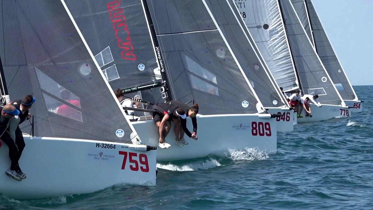 bb1f8e04bd4d8f Portoroz - Melges 24 European Sailing Series 2018 - YouTube