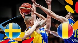Sweden v Romania - Full Game - Class. 13-16 - FIBA U20 European Championship 2018 thumbnail