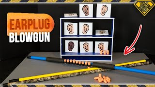 Plug Popper Earplug Blowgun