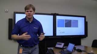 Lync Room System demo at Dallas MTC