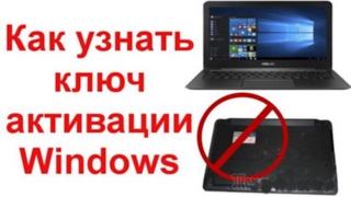 Как узнать ключ установленной Windows