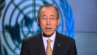 Mr Ban Ki-moon United Nations Secretary-General,  PP14 Opening Ceremony Video Message