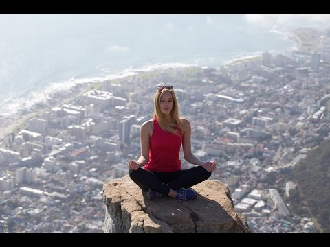 Climbing Up Lion's Head - Cape Town