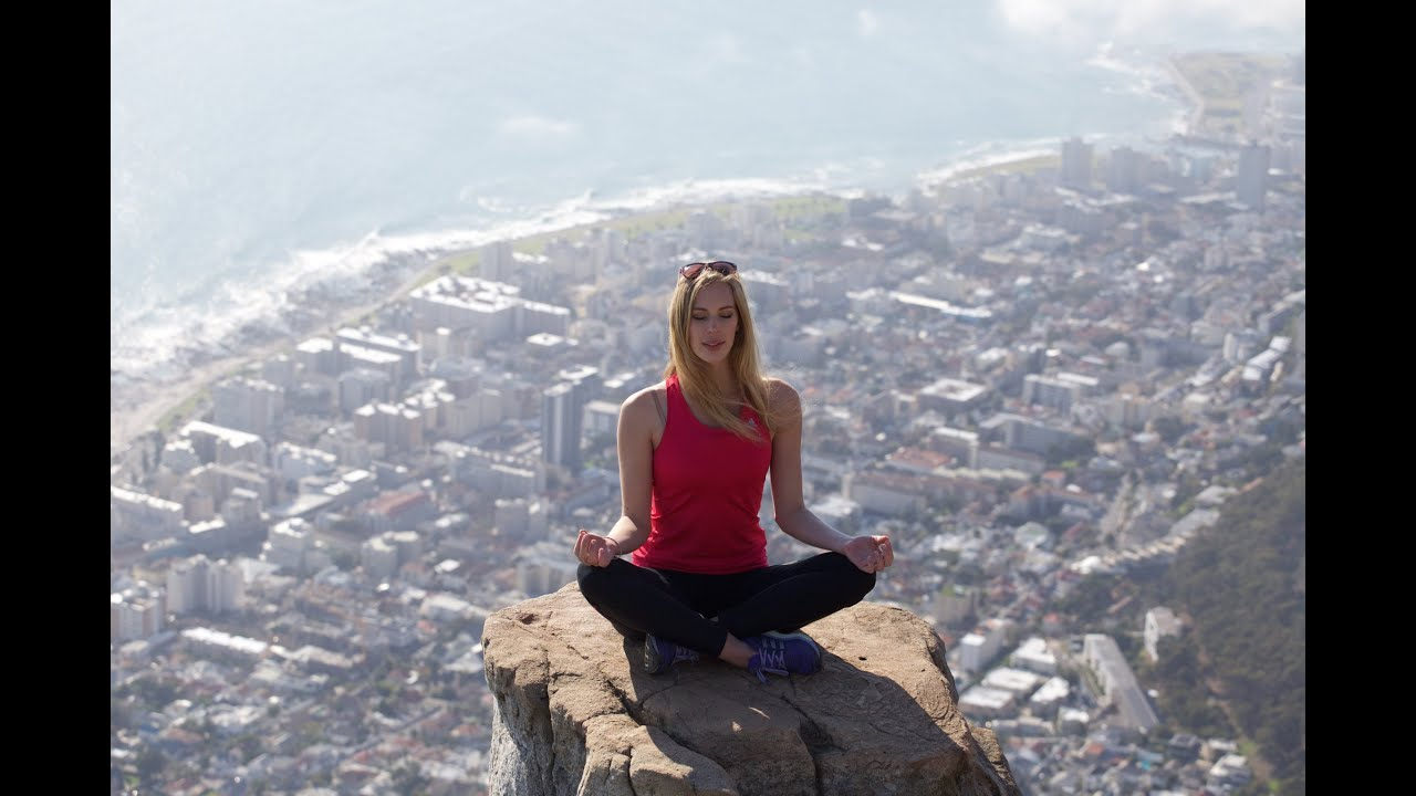 Climbing Up Lion S Head Cape Town Youtube