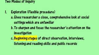 Herbert Blumer and Interaction Modes of Inquiry