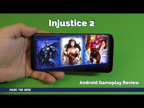 Injustice 2 Mobile Gameplay Review