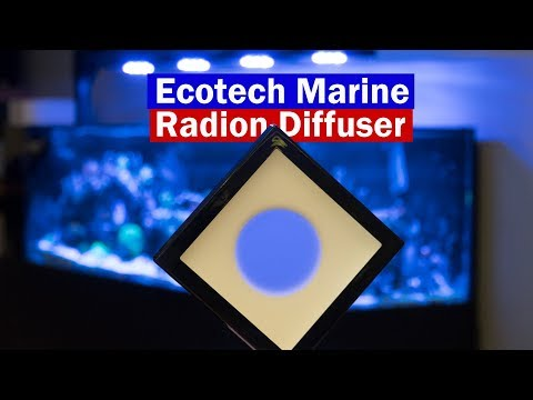 Ecotech Marine Diffuser Review for Radion lighting