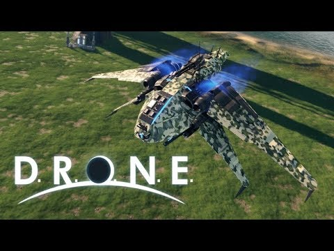 D.R.O.N.E Game Demo Showcase!! | Part 1