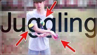 EPIC Juggling by Teenager (Talent) - Wafellow
