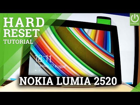 Hard Reset NOKIA Lumia 2520 - Format Windows / Factory Reset / Restore Windows