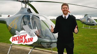 First solo helicopter flight | Cabri G2
