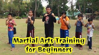 MARTIAL ARTS TRAINING for beginners in Guindulman, Bohol