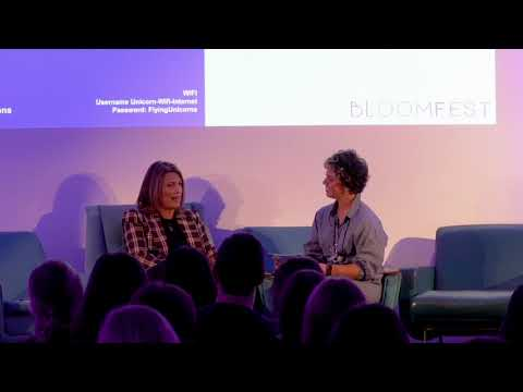 #BloomFest Conference 2018 - Keynote Interview with ITV's Carolyn McCall DBE